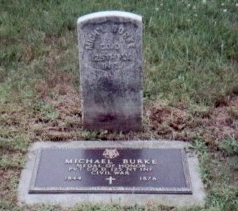 Michael Burke Marker image. Click for full size.