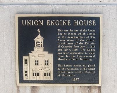 Union Engine House Marker image. Click for full size.