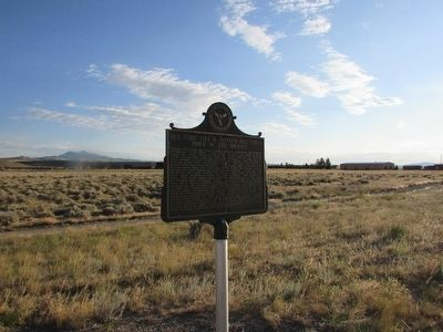 Old Cody City & Buffalo Bill Cody's Town in the Rockies Marker image. Click for full size.