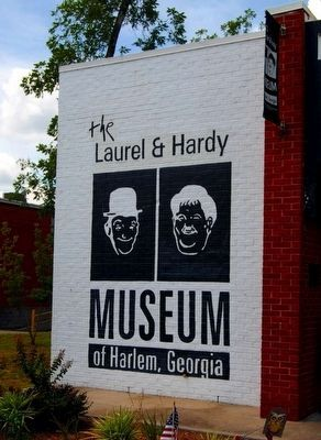 Laurel and Hardy Museum, Harlem, Ga. image. Click for full size.