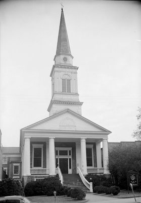 <i>VIEW LOOKING EAST. - First Presbyterian Church, North Main Street, Greeneville, Greene County</i> image. Click for full size.
