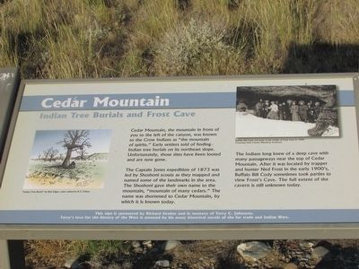 Cedar Mountain Marker image. Click for full size.