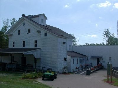 Wolcott Mill and Marker image. Click for full size.