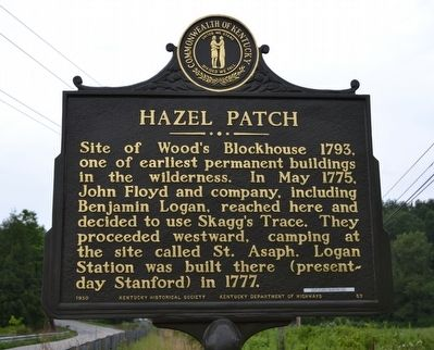 Hazel Patch Marker image. Click for full size.