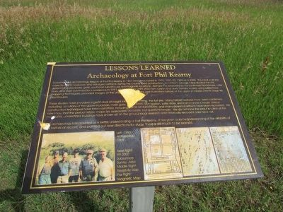 Lesson Learned Marker image. Click for full size.