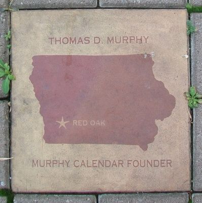 Thomas D. Murphy Marker image. Click for full size.