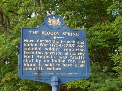 The Bloody Spring Marker image. Click for full size.