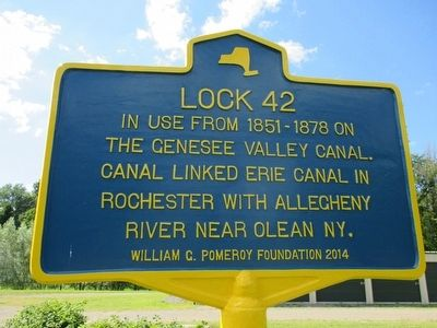 Lock 42 Marker image. Click for full size.