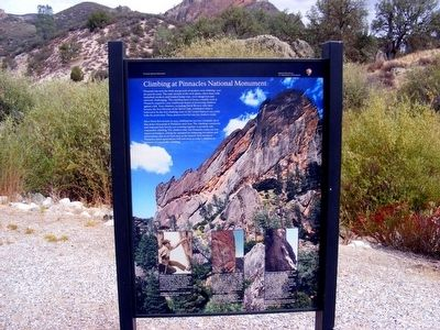 Climbing at Pinnacles National Monument Marker image. Click for full size.