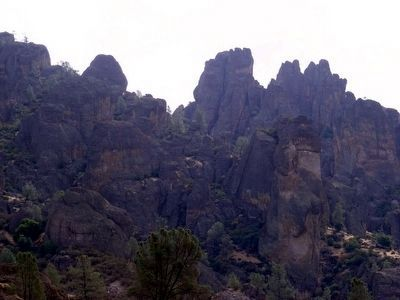Climbing at Pinnacles National Monument image. Click for full size.