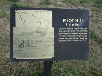 Pilot Hill Marker image. Click for full size.
