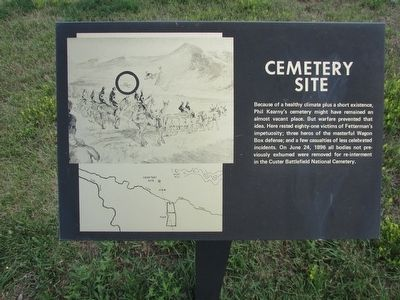 Cemetery Site Marker image. Click for full size.
