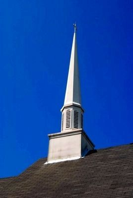 Damascus Baptist Church Steeple image. Click for full size.