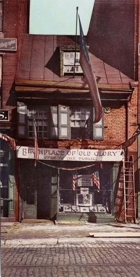 <i>Betsy Ross House, Philadelphia</i> image. Click for full size.