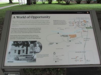 A World of Opportunity Marker image. Click for full size.