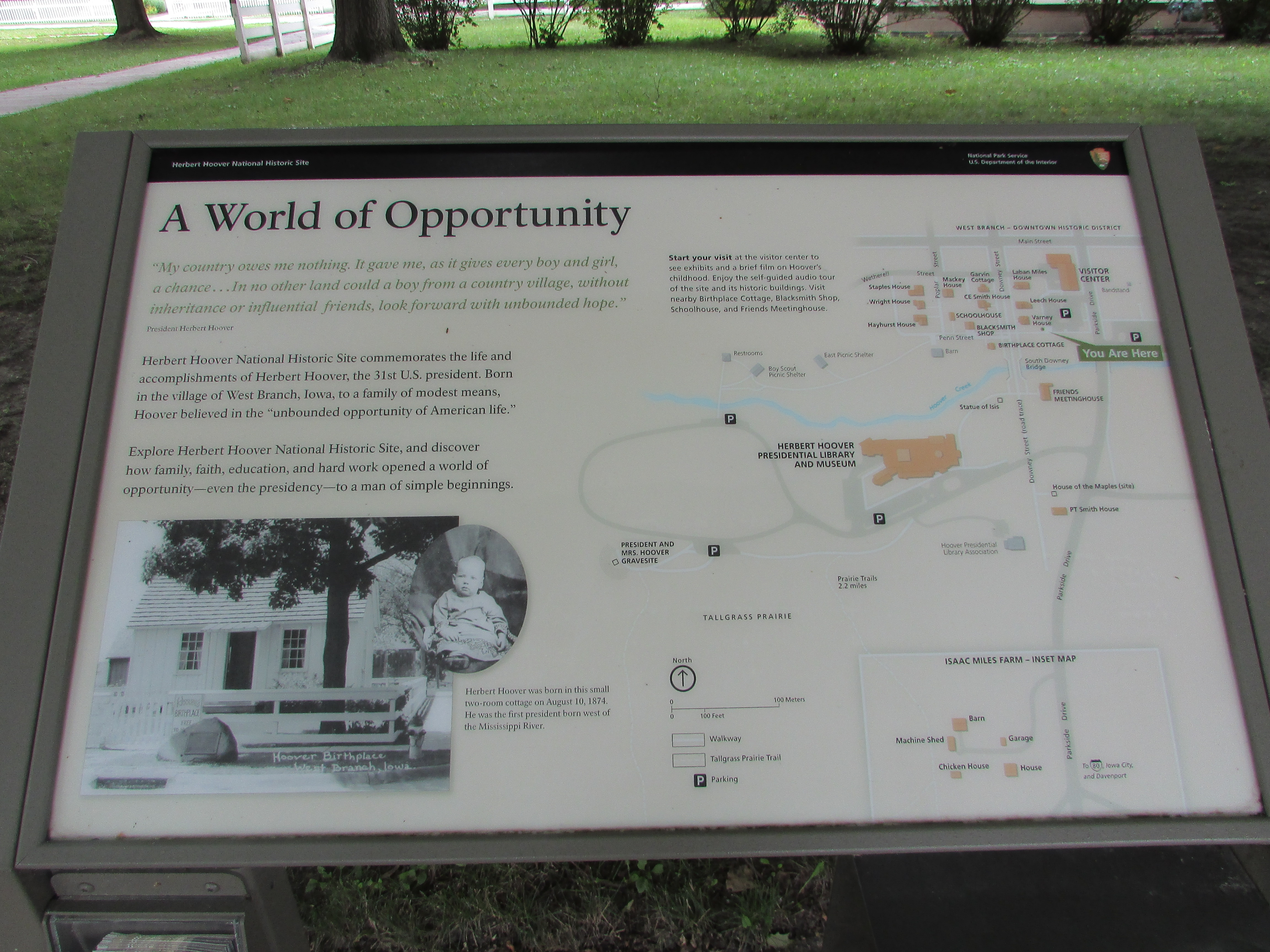 A World of Opportunity Marker