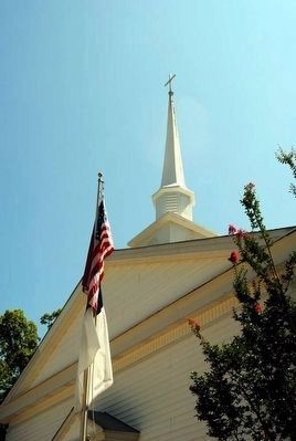Shiloh Methodist Church Steeple image. Click for full size.