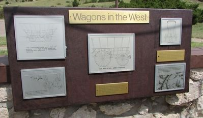 Wagons in the West Marker image. Click for full size.
