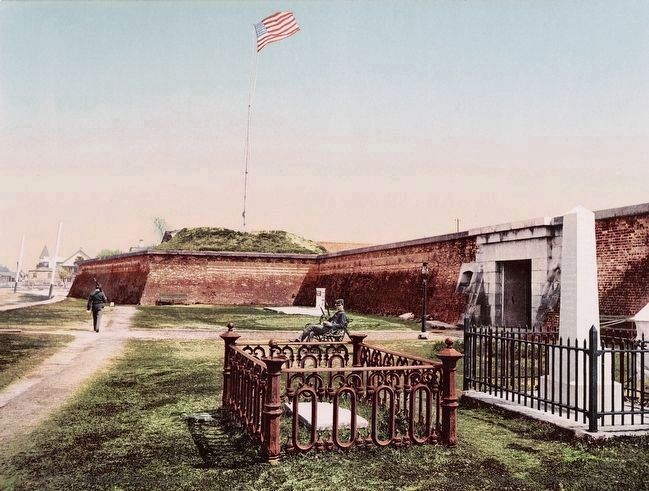 <i>Fort Moultrie, Charleston, S.C..</i> image. Click for full size.