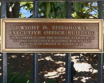 Dwight D. Eisenhower<br>Executive Office Building image. Click for full size.