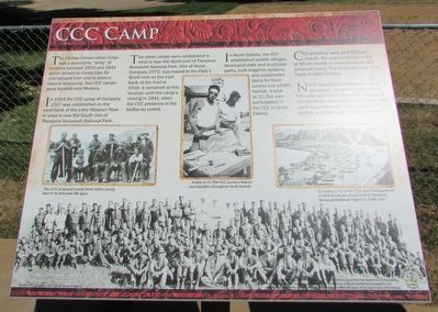 CCC Camp Marker image. Click for full size.