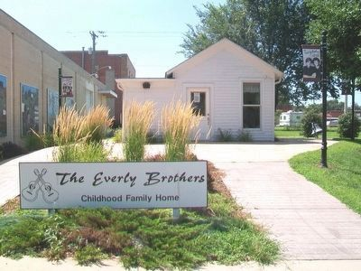 Everly Brothers Childhood Family Home image. Click for full size.