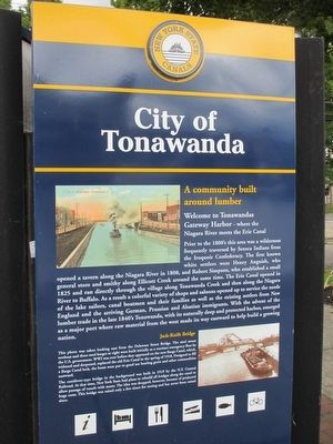 City of Tonawanda Marker image. Click for full size.