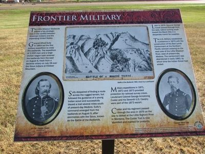 Frontier Military Marker image. Click for full size.