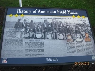 History of American Field Music Marker image. Click for full size.