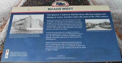 Roads West Marker image. Click for full size.