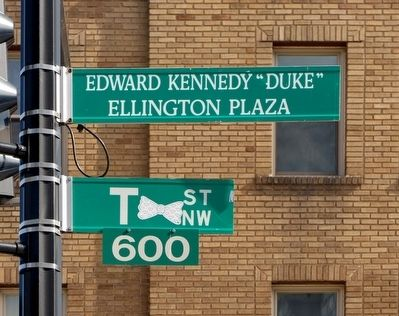 "Edward Kennedy ""Duke"" Ellington Plaza image. Click for full size."