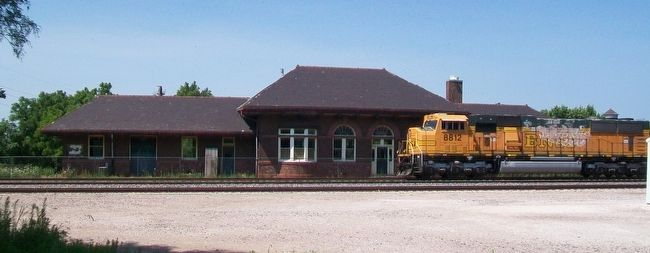 Red Oak Depot image. Click for full size.