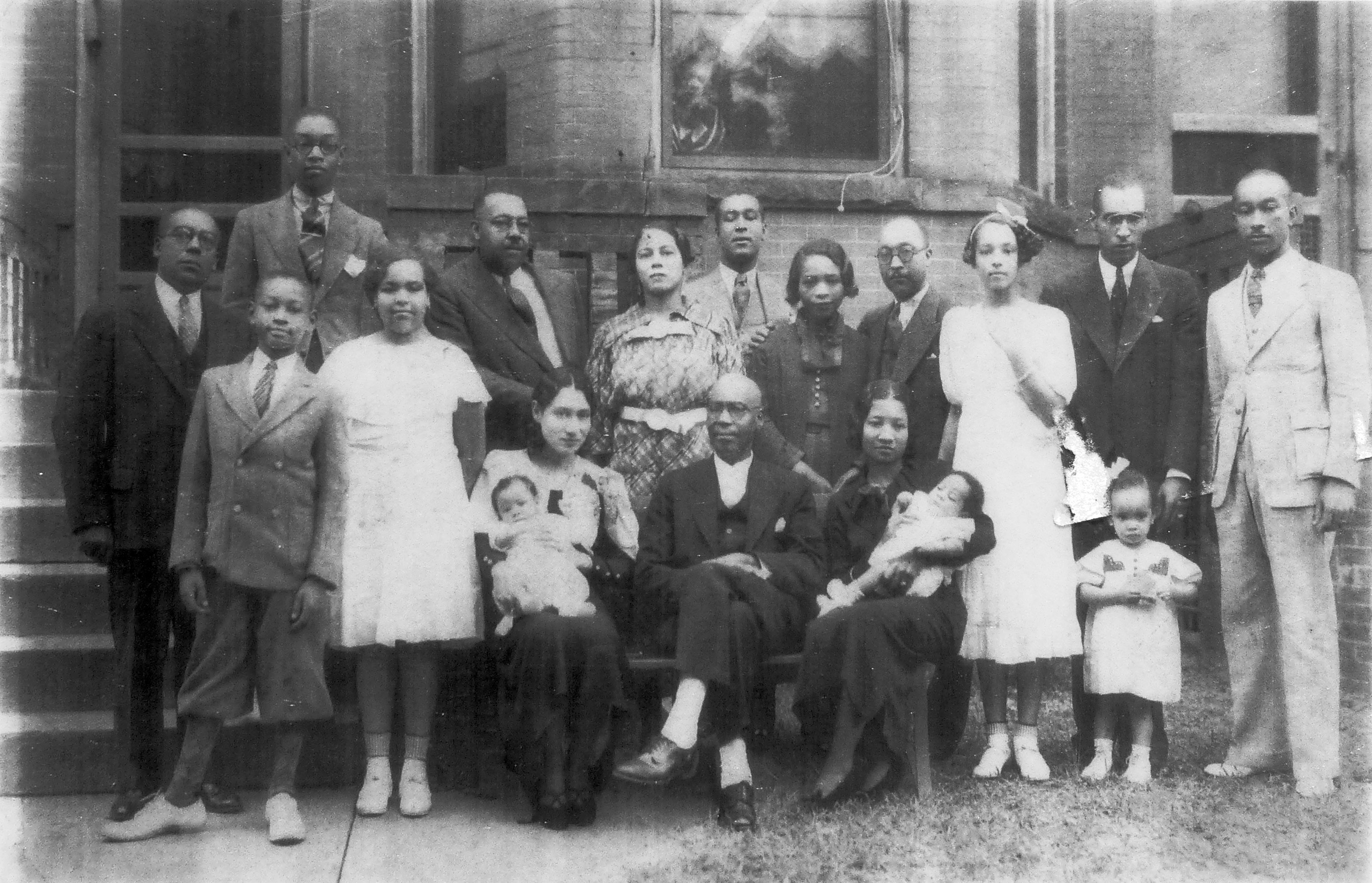 Rev. William A. Taylor & Family