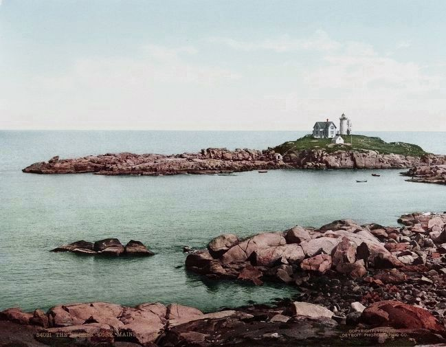 <i>The Nubble, York, Maine</i> image. Click for full size.
