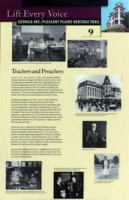 Teachers and Preachers Marker image. Click for full size.