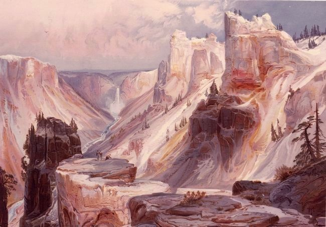 <i>The Grand Canyon, Yellowstone</i> image. Click for full size.