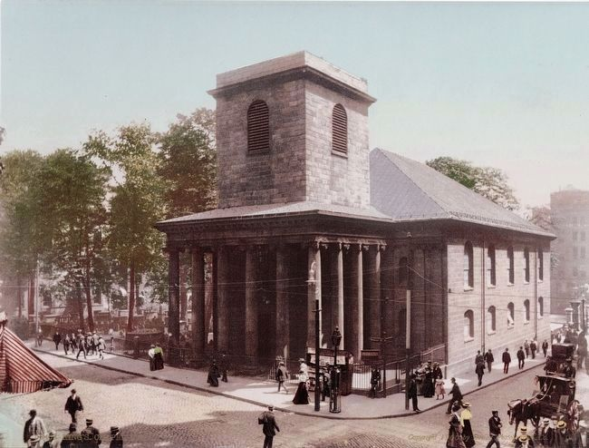 <i>King&#39;s Chapel, Boston</i> image. Click for full size.