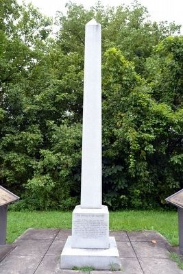 The Battle of Ivy Mountain Obelisk image. Click for full size.
