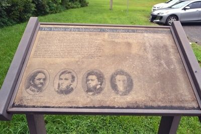 The Battle of Ivy Mountain Marker image. Click for full size.