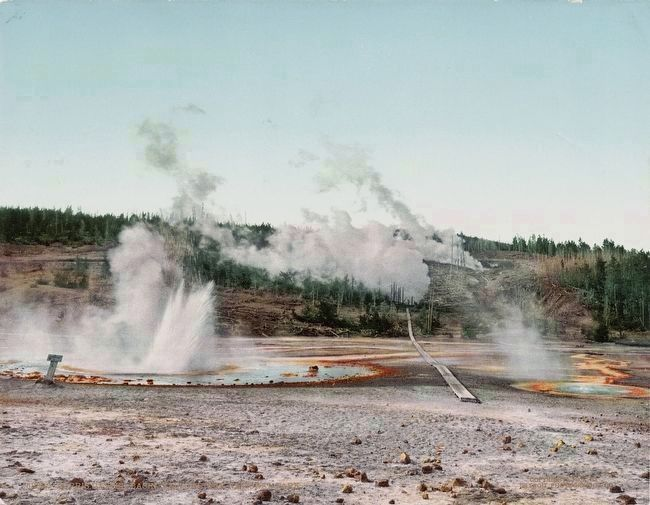 <i>Norris Geyser Basin, Yellowstone National Park</i> image. Click for full size.