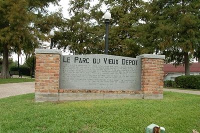 Le Parc Du Vieux Depot Marker image, Touch for more information