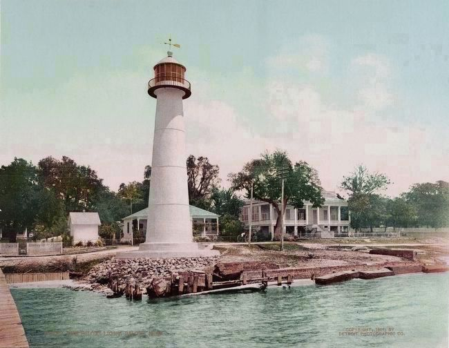 <i>The Biloxi Light, Biloxi, Miss.</i> image. Click for full size.