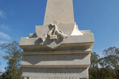 Confederate Soldier Memorial Marker image. Click for full size.