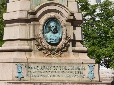 Grand Army of the Republic Marker image. Click for full size.