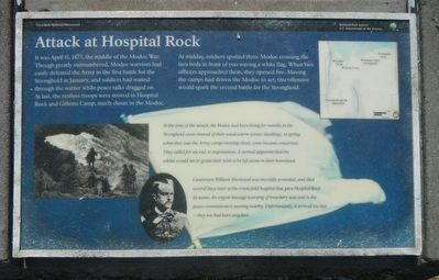 Attack at Hospital Rock Marker image. Click for full size.