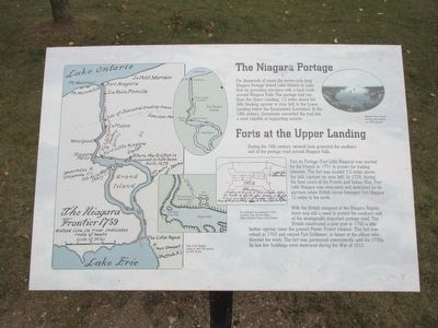 The Niagara Portage Marker image. Click for full size.