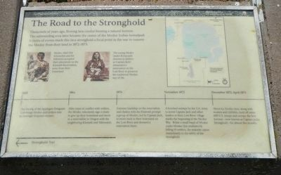 The Road to the Stronghold Marker image. Click for full size.