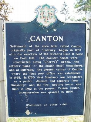 Canton Marker image. Click for full size.