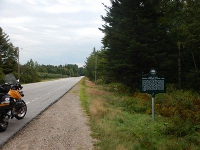 Wideview of Camp Stark Marker image. Click for full size.