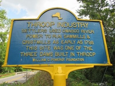 Throop Industry Marker image. Click for full size.